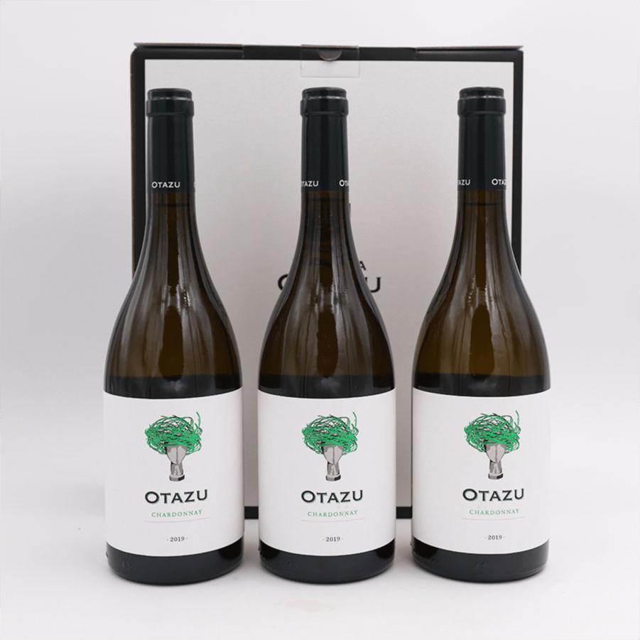 Otazu Chardonnay-2020 3 ampolles + estoig regal