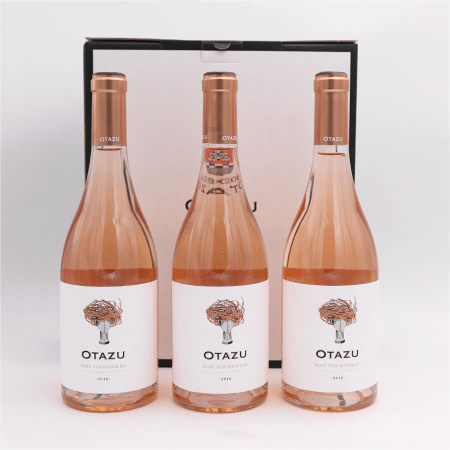 Otazu Rosado Ull de llebre -2020 3 ampolles + estoig regal